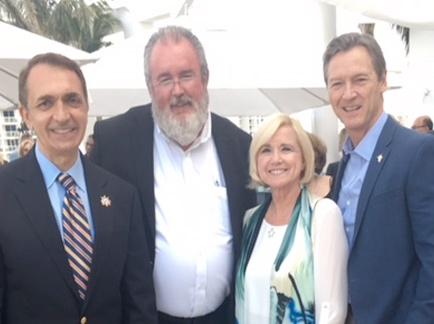 Duke Re-Appointed to Marine Trade Organization Board